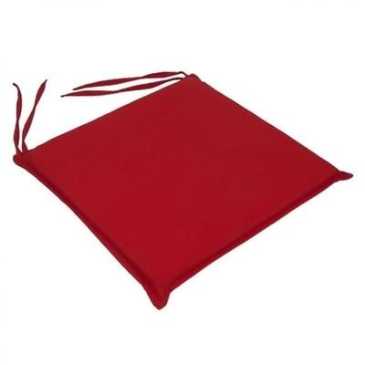 Μαξιλάρι Καρέκλας Μονόχρωμο Κόκκινο - Be Comfy