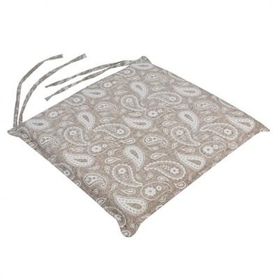 Μαξιλάρι Καρέκλας Λαχούρι Μπεζ - Be Comfy