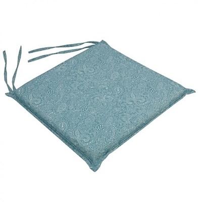 Μαξιλάρι Καρέκλας Vitro Μπλε - Be Comfy