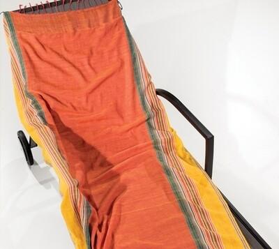 Πετσέτα-Παρεό Θαλάσσης Mahabali Orange - Nima Home