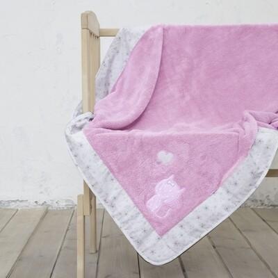 Κουβέρτα Κούνιας Fleece με Φάσα Kitten - Nima Home