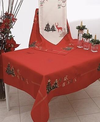 Τραβέρσα Κέντημα 16641 Merry Christmas - Ilis Home