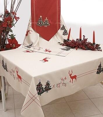 Καρέ Κέντημα 16641 Καλά Χριστούγεννα - Ilis Home