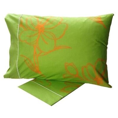 Σετ Σεντόνια Μονά Cotton Feelings 537 Green - Sunshine