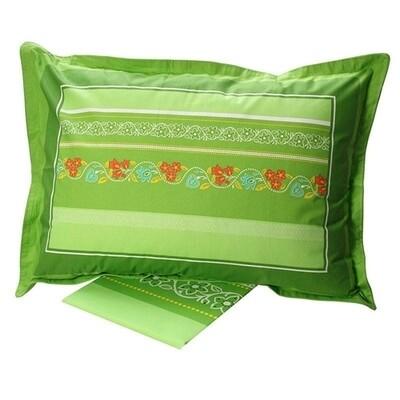 Σετ Σεντόνια Μονά Cotton Feelings 4674 Green - Sunshine