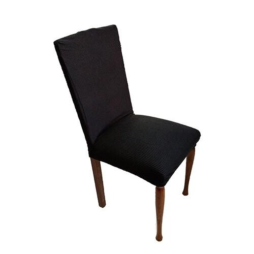 Κάλυμμα Καρέκλας Ελαστικό Danai Μαύρο