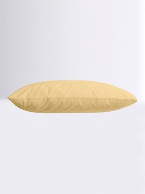 Μαξιλαροθήκες Ζευγάρι Μονόχρωμες Menta 03 Light Beige - Sunshine
