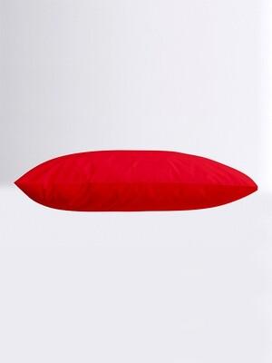 Μαξιλαροθήκες Ζευγάρι Μονόχρωμες Menta 12 Red - Sunshine