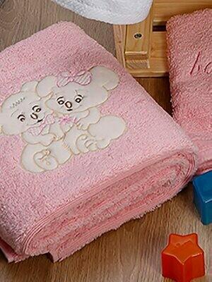 Σετ Πετσέτες 2 τεμ. Couple Pink