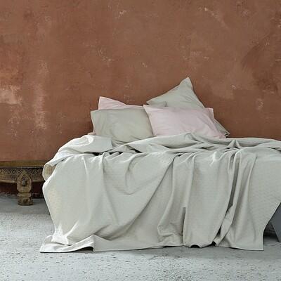 Κουβέρτα Υπέρδιπλη Losange Light Beige - Nima Home