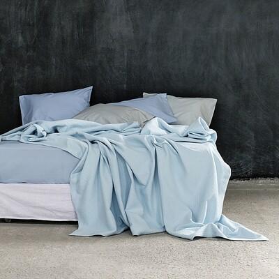 Κουβέρτα Υπέρδιπλη Nativa Light Blue - Nima Home