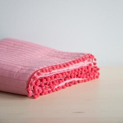 Κουβερλί Μονό Finesse Vivid Pink - Nima Home