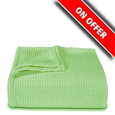 Κουβέρτα Πικέ Υπέρδιπλη Green - Sunshine