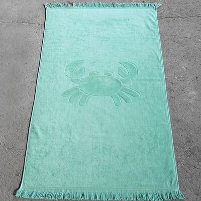 Πετσέτα Θαλάσσης 70Χ140 εκ. Crab Emerald - Nima