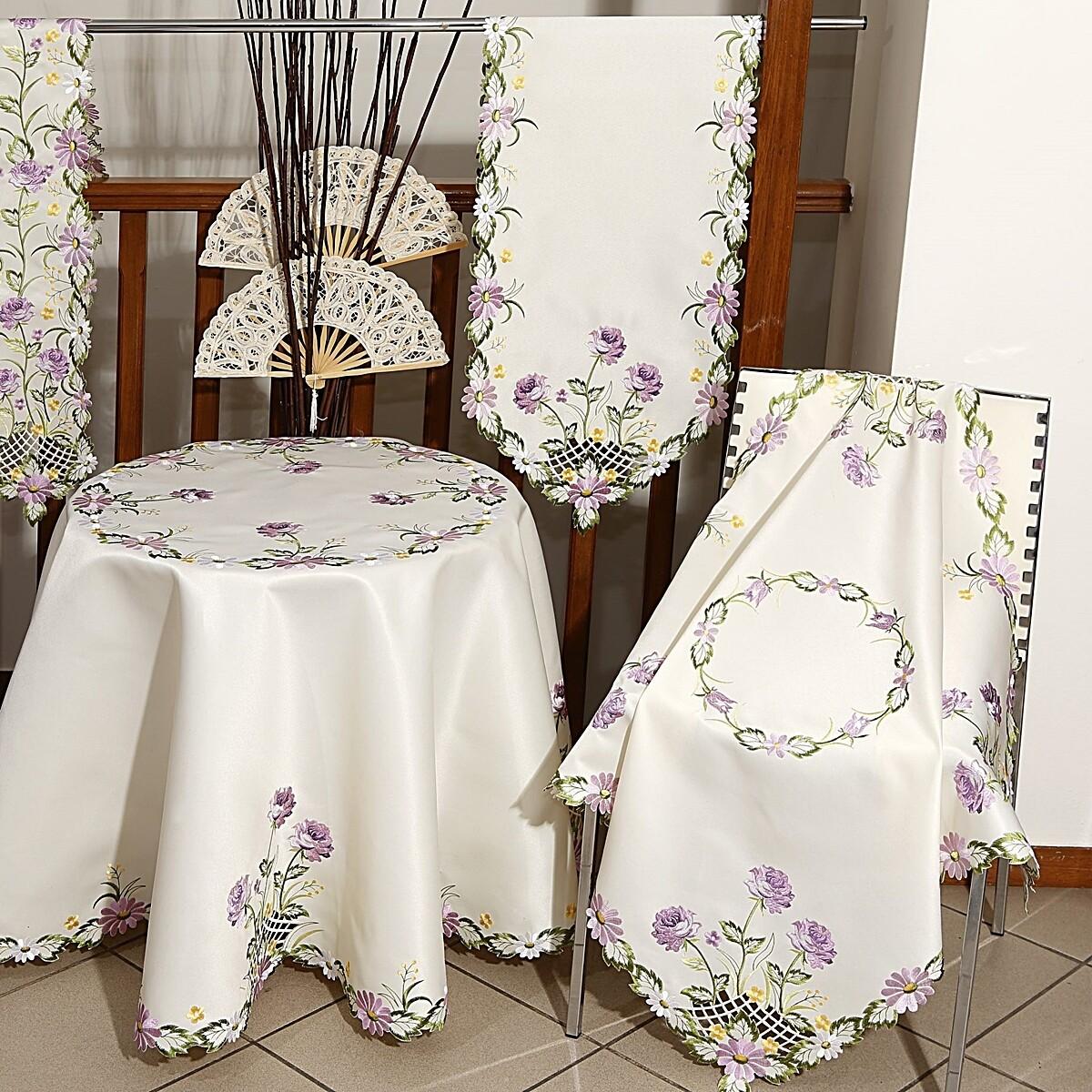 Τραβέρσα Κέντημα 34525 Lilac - Ilis Home