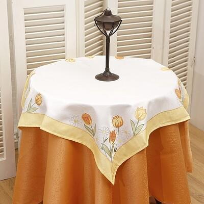 Τραπεζοκαρέ Κέντημα 8030360 Yellow - Ilis Home