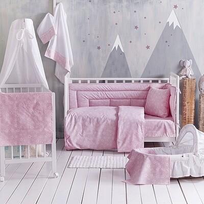Πάπλωμα Κούνιας Bright Pink - Rythmos