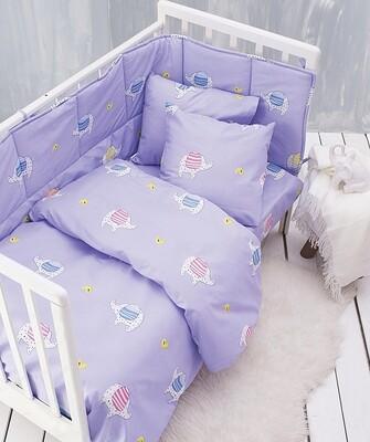 Πάπλωμα Κούνιας Wooly Pink - Rythmos
