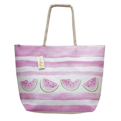 Τσάντα Σταμπωτή Fruits 45Χ45 εκ. 2766 L Καρπούζι Ροζ - Ilis Home