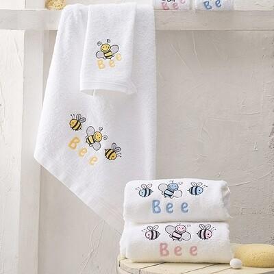 Σετ Πετσέτες 2 τεμ. Κέντημα Honey Bee - Rythmos