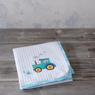 Κουβέρτα Πικέ Λίκνου Little Farm - Nima Home