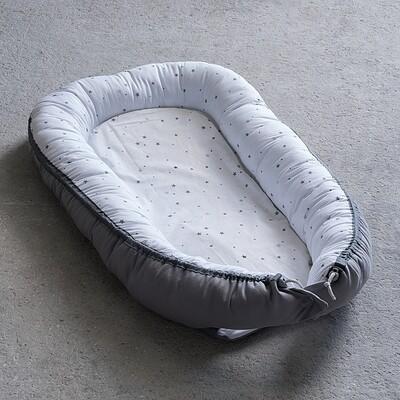 Βρεφική Φωλιά Baby Nest Gray - Nima Home