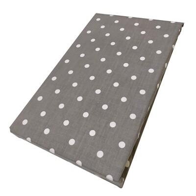 Σεντόνι Διπλό Dots Gray - Komvos