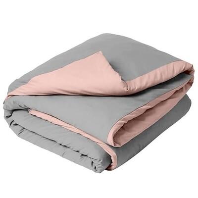 Παπλωματοθήκη Μονή Menta 11 Light Gray-Pink - Sunshine