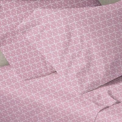 Παπλωματοθήκη Μονή Menta 940 Pink- Sunshine