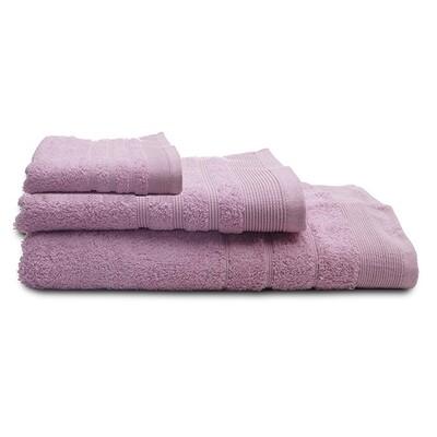 Πετσέτα 30Χ50 εκ. Μονόχρωμη Χίμπουρι Lilac - Sunshine