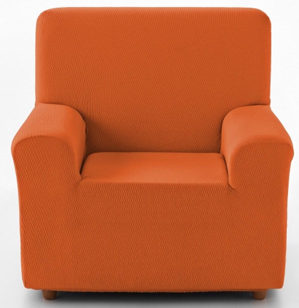 Κάλυμμα Πολυθρόνας Tunez Πορτοκαλί Λύκρα Ελαστικό