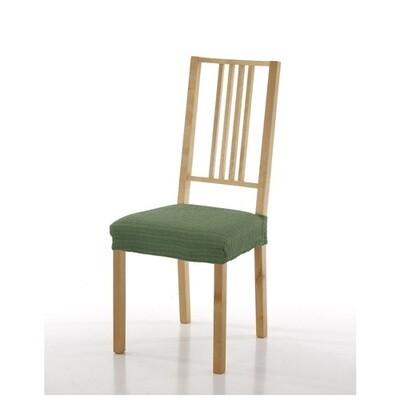 Σετ 2 τεμ. Κάλυμμα Κάθισμα Καρέκλας Ελαστικό Akari Πράσινο - Mc Decor