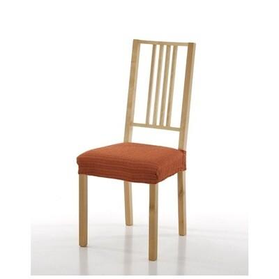 Σετ 2 τεμ. Κάλυμμα Κάθισμα Καρέκλας Ελαστικό Akari Πορτοκαλί - Mc Decor