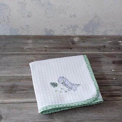 Κουβέρτα Πικέ Κούνιας Baby T Rex - Nima Home