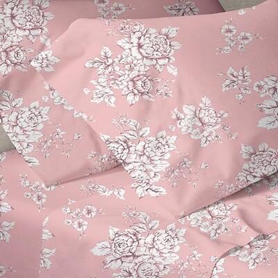 Μαξιλαροθήκες Ζευγάρι Menta 960 Pink - Sunshine