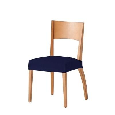 Σετ 2 τεμ. Κάλυμμα Κάθισμα Καρέκλας Ελαστικό Tunez Μπλε - Mc Decor