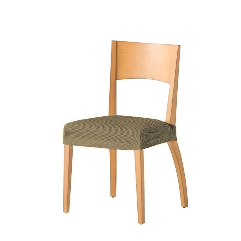 Σετ 2 τεμ. Κάλυμμα Κάθισμα Καρέκλας Ελαστικό Tunez Λινό - Mc Decor