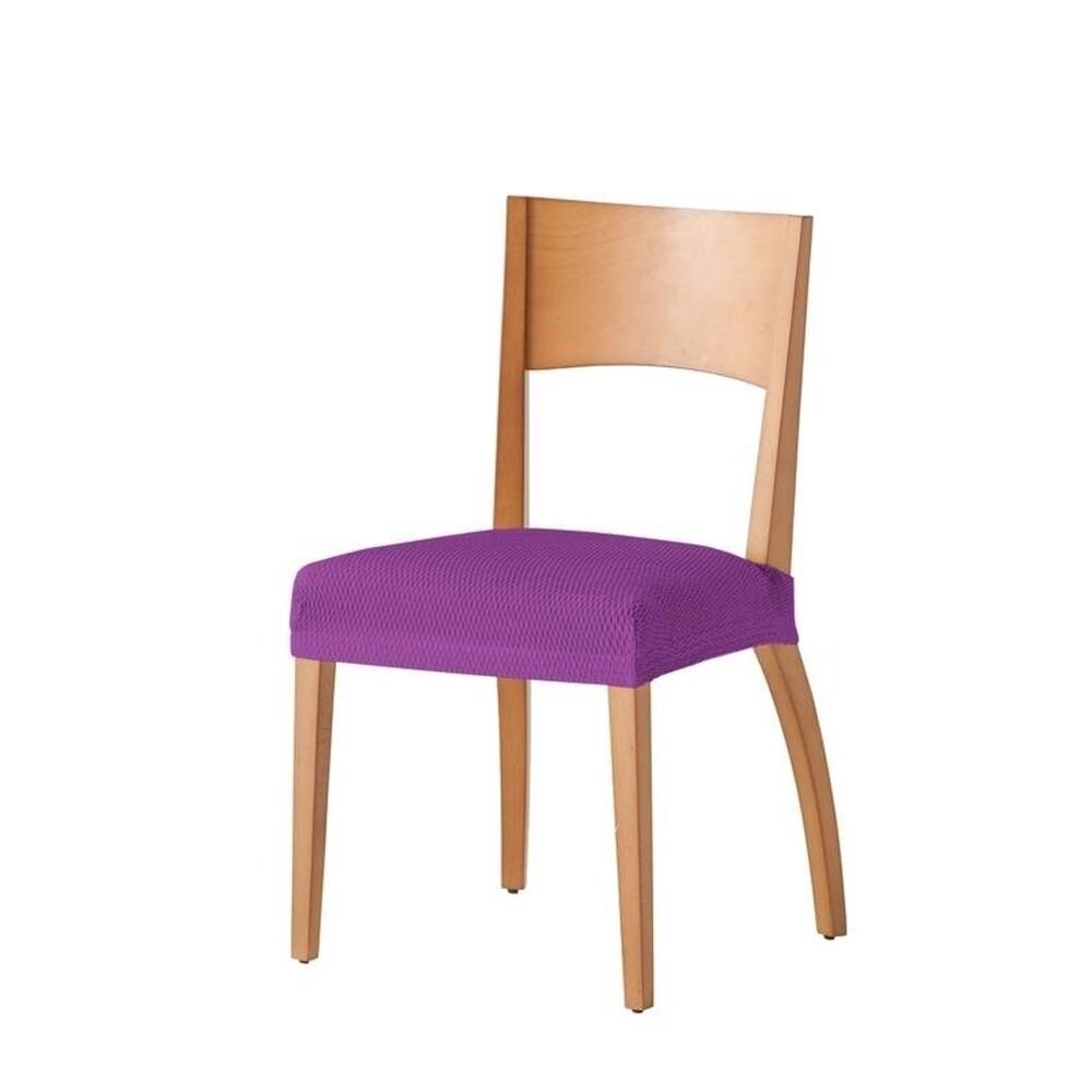 Σετ 2 τεμ. Κάλυμμα Κάθισμα Καρέκλας Ελαστικό Tunez Μωβ - Mc Decor