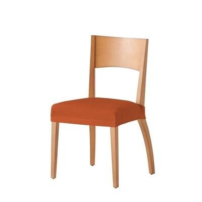 Σετ 2 τεμ. Κάλυμμα Κάθισμα Καρέκλας Ελαστικό Tunez Πορτοκαλί - Mc Decor