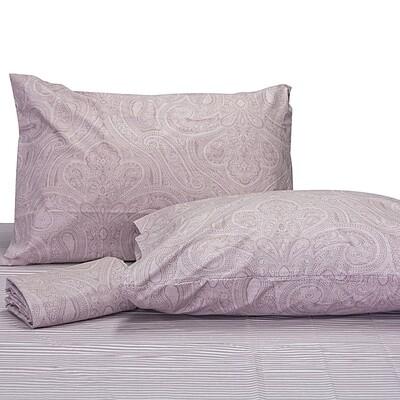 Μαξιλαροθήκες Ζευγάρι Lahour Pink Βαμβάκι 100% - Cotton Senses