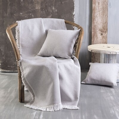 Ριχτάρι Μονοθέσιο Miller Silver - Cotton