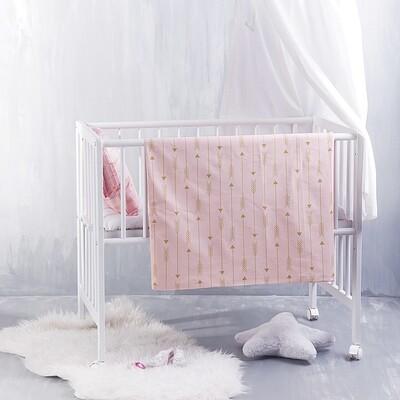 Σεντόνι Λίκνου Arrow Pink - Rythmos