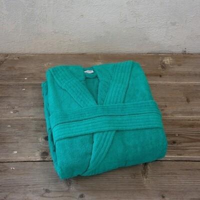 Μπουρνούζι Velour Zen Emerald Blue - Nima Home