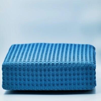 Κουβέρτα Πικέ Μονή Βαμβακερή Dark Blue - Adam Home