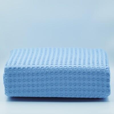 Κουβέρτα Πικέ Υπέρδιπλη Βαμβακερή Blue - Adam Home