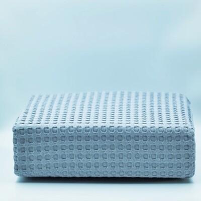 Κουβέρτα Πικέ Υπέρδιπλη Βαμβακερή Gray - Adam Home