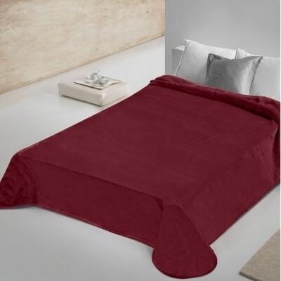 Κουβέρτα Βελουτέ Μονή 802 Bordo - Adam Home