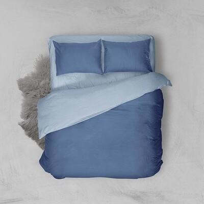 Παπλωματοθήκη Μονή Menta 202 Μπλε-Θαλασσί - Sunshine