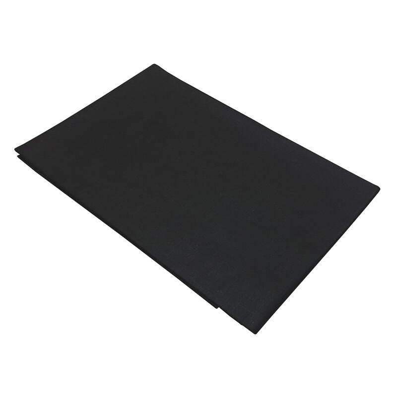 Μαξιλαροθήκες Cotton Line Ζευγάρι Black - Komvos