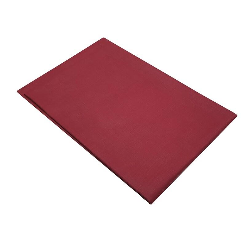 Μαξιλαροθήκες Cotton Line Ζευγάρι Red - Komvos
